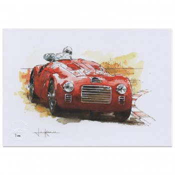 Ferrari | Porsche | Lotus | Ford | Jaguar | Art Print Set