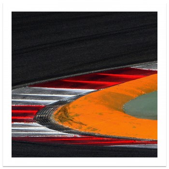 Spa Francorchamps Circuit Corner Abstract | Photograph