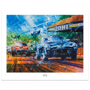 Perfect Day | Stirling Moss | Ferrari | Print