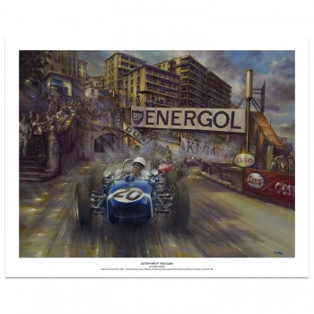 Catch Me If You Can | Stirling Moss | Monaco Grand Prix | Art Print