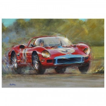 Goodwood TT 1964 | Graham Hill | Ferrari 330P | Artwork