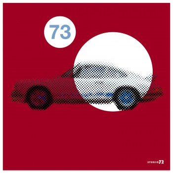 1973 Porsche 911 2.7 RS | Bahia Red | Art Print