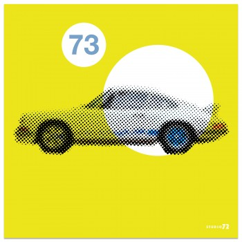 1973 Porsche 911 2.7 RS | Light Yellow | Art Print