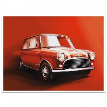 Red Mini | Art Print