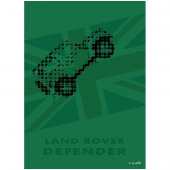 Land Rover Defender | Poster