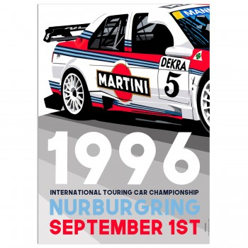 SPEED ICONS: International Touring Cars 1996 Race | Nurburgring | Poster