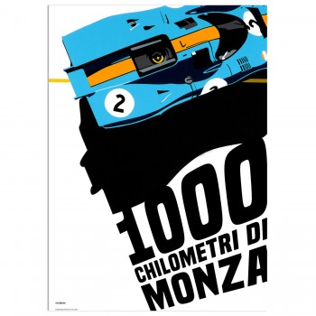 SPEED ICONS: Monza 1000km Race 1971 | Poster