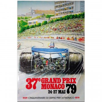 French | Monaco Grand Prix 1979 Poster