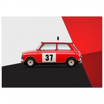 Mini Cooper - British Icon | Art Print
