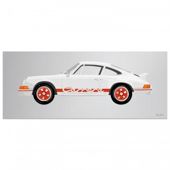 Porsche 911 2.7RS | Red | Artwork