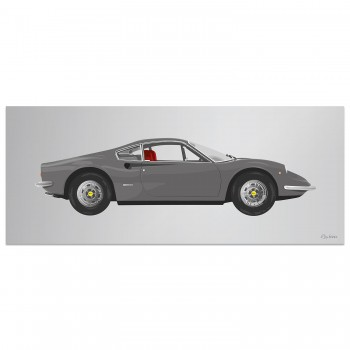 Ferrari Dino 246GT | Artwork
