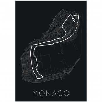 The Stage of Real Sport – Circuit De Monaco Poster | Art Print