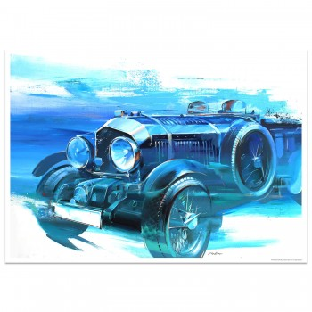 4½ Litre Blower Bentley | Art Print