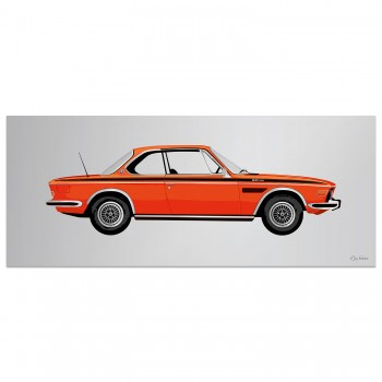 BMW 3.0 CSL Coupe | Artwork