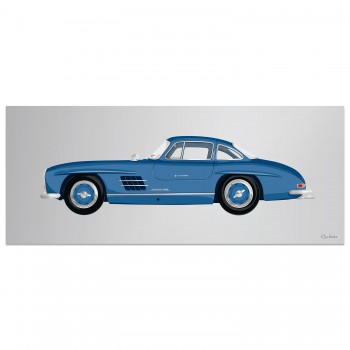 Mercedes-Benz 300SL Gullwing | Artwork