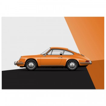 Porsche 912 - The Entry Level 911 | Art Print