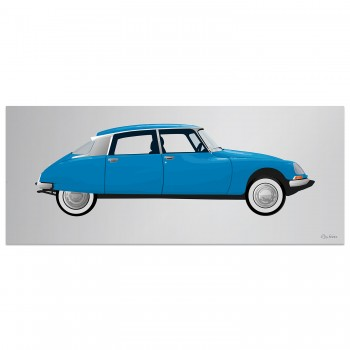 Citroen DS23 | Blue | Artwork