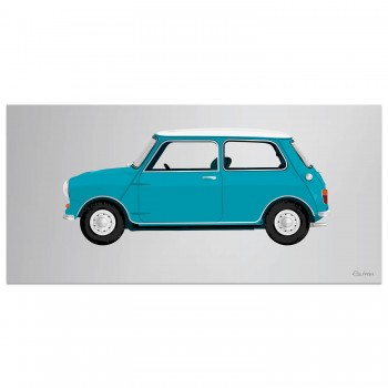 1960 Mini | Blue | Artwork