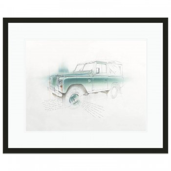 Land Rover Series 3 | Original Art