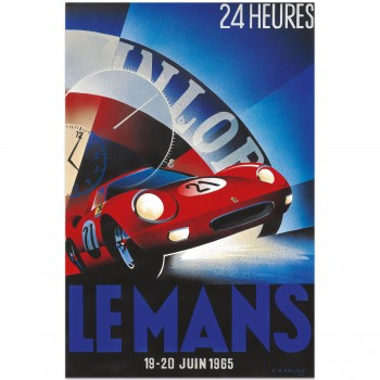 1965 Le Mans 24 Hours | Poster
