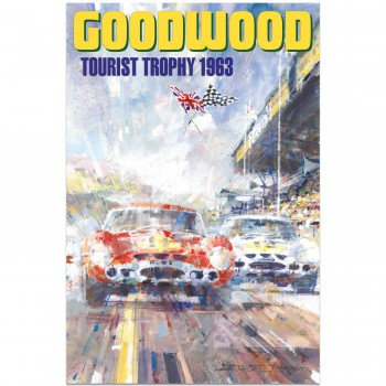 1963 Goodwood Tourist Trophy | Poster
