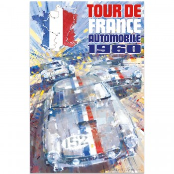 1960 Tour de France Automobile | Poster