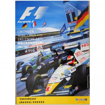 German | Grand Prix 1994 | Poster