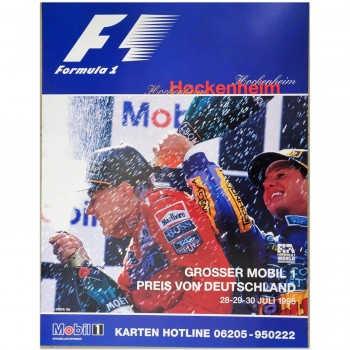 German | Grand Prix 1995 | Poster