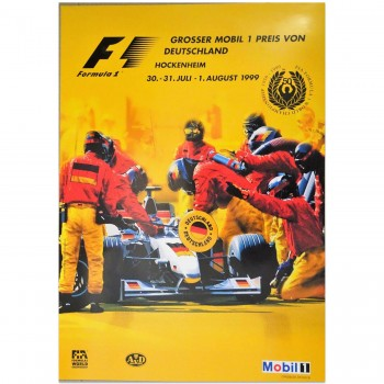 German | Grand Prix 1999 | Poster