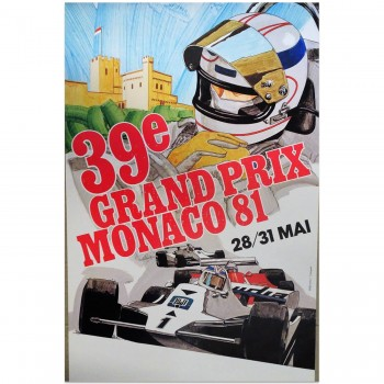French | Monaco Grand Prix 1981 | Poster
