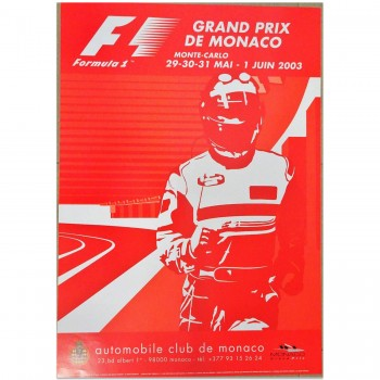 French | Monaco Grand Prix 2003 | Poster