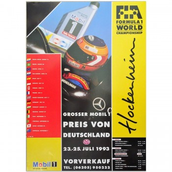 German | Grand Prix 1993 | Poster
