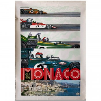 French | Monaco Grand Prix 1973 | Poster