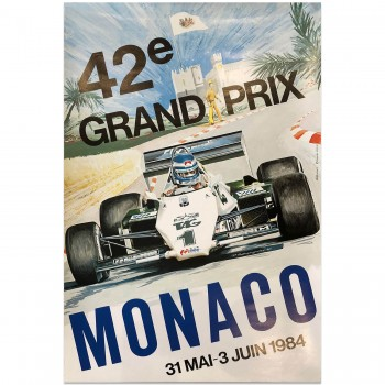 French | Monaco Grand Prix 1984 | Poster