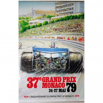 French | Monaco Grand Prix 1979 | Poster (numbered)
