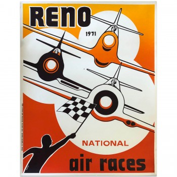 USA | Reno National Air Races 1971 | Poster