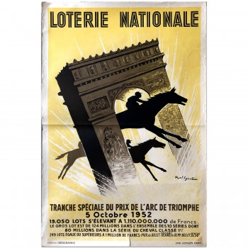 French | Loterie Horse Racing 1952