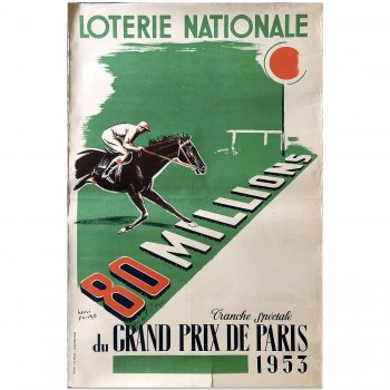 French | Loterie Horse Racing 1953