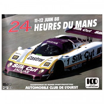 French | Le Mans 24 hours 1988 Poster
