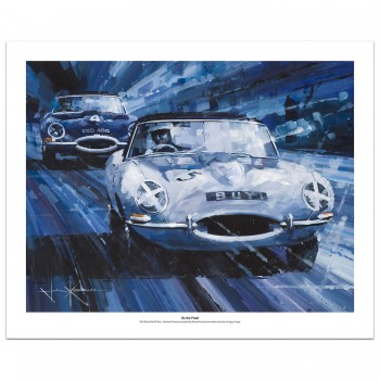 On the Prowl | Hill & Salvadori | Jaguar | Print