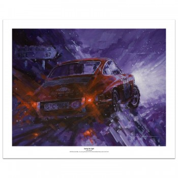 Seeing the Light | Elford | Porsche | Print