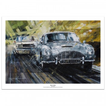 Back in Action | James Bond | Aston Martin | Print