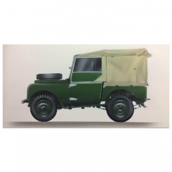 Land Rover Series One | Artwork