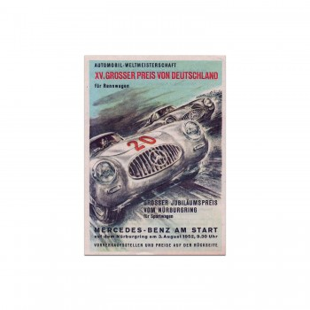 German Grand Prix 1952 | For Sportscars | Mercedes Benz | Flyer