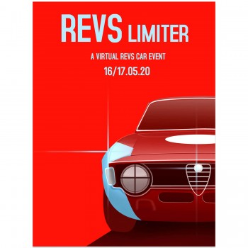 REVS Limiter 2020 Event Poster