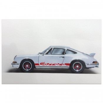 1973 Porsche Carrera RS | White | Artwork