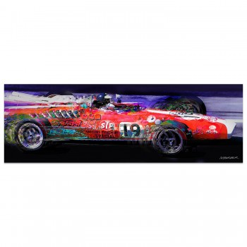 Jim Clark | Lotus 38 | Indy 500 | 1966 | Art Print
