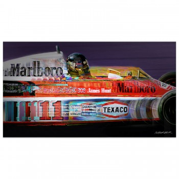 James Hunt | Mclaren | Spanish Grand Prix | 1976 | Art Print