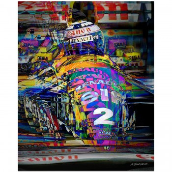 Alain Prost | Williams | German Grand Prix | 1993 | Art Print