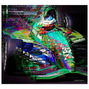 Michael Schumacher | Jordan-Ford | Belgian Grand Prix | 1991 | Art Print